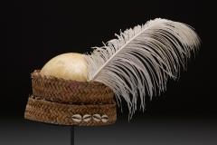Ostrich egg hat